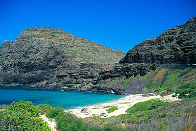 Makapu'u Beach Art Print