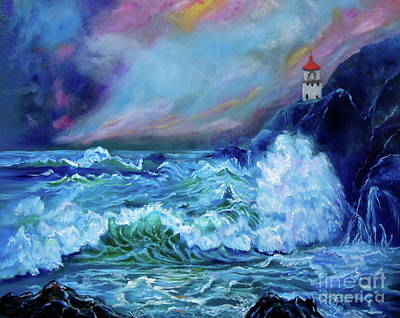 Makapuu Light House Art Print