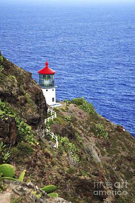 Makapuu Lighthouse I Art Print