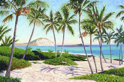 Painting - Makapuu by Steve Simon