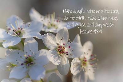 Make A Joyful Noise Unto The Lord Art Print by Kathy Clark
