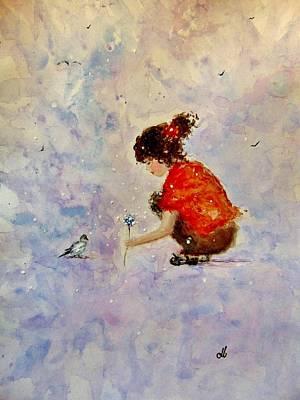 Make A Wish 20 Art Print by Cristina Mihailescu