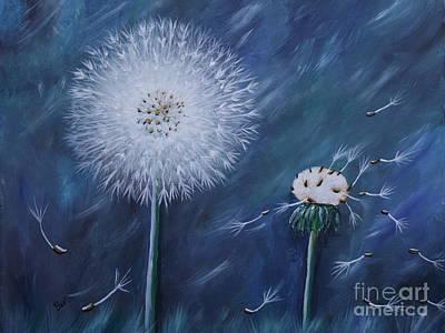 Make A Wish / Dandilion Original by Beverly Livingstone