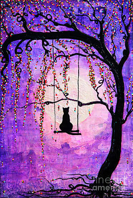 Art Print featuring the mixed media Make A Wish by Natalie Briney