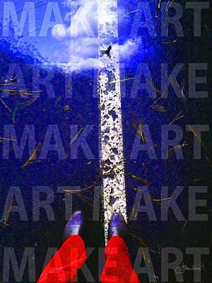 Make Art Print by Judith Schmidt