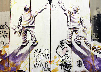 Photograph - Make Dolma Not War by Munir Alawi