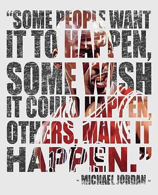 Make It Happen Art Print by Iman Cruz