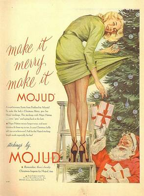 Digital Art - Make It Merry...make It Mojud by Reinvintaged