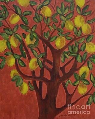 Make Lemon Aid Art Print