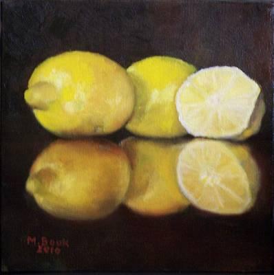 Painting - Make Lemonade by Marlene Book