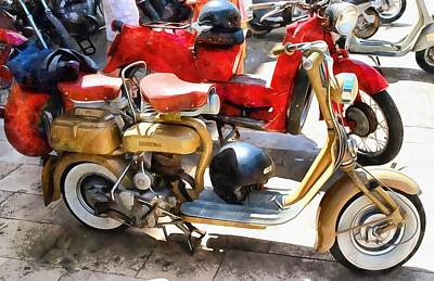Photograph - Make Mine A Lambretta by Dorothy Berry-Lound