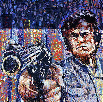 Photograph - Make My Day  Clint Eastwood  by Chuck Kuhn