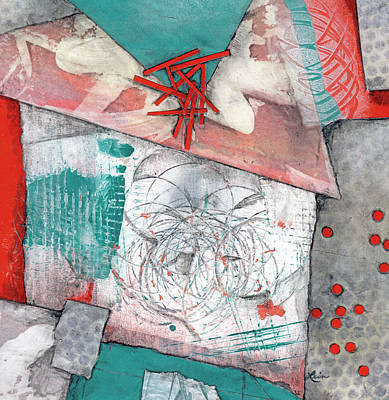 Mixed Media - Make Peace by Laura  Lein-Svencner