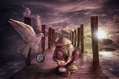 Mistery Digital Art - Make Time by Nathan Wright