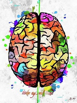 Make Up Your Mind Art Print