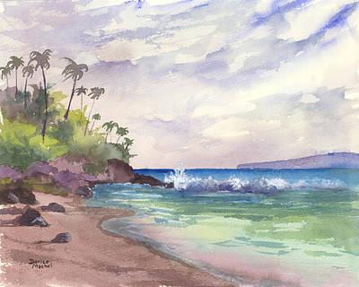 Painting - Makena Maui by Darice Machel McGuire