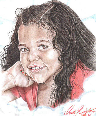 Drawing - Makia by Dustin Knighton
