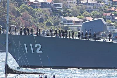Photograph - Makinami Warship Meets Sydney by Miroslava Jurcik