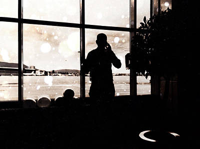 Photograph - Making A Phone Call by Siegfried Ferlin