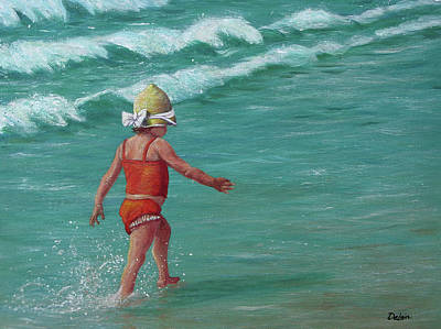 Painting - Making A Splash   by Susan DeLain