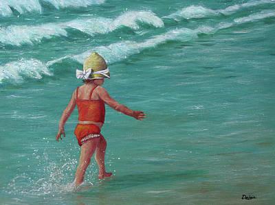 Painting - Making A Splash   by Susan DeLain