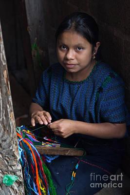Artist Working Photograph - Making Bracelets by Dan Hartford