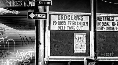 Photograph - Making Groceries In New Orleans by Kathleen K Parker