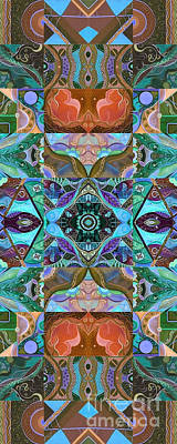 Digital Art - Making Magic - A  T J O D Arrangement Altered by Helena Tiainen