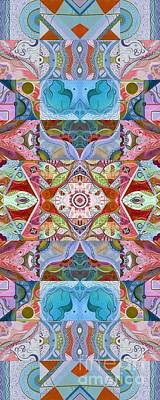 Digital Art - Making Magic - A  T J O D Series Arrangement Variation by Helena Tiainen