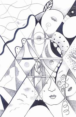 Affordable Drawing - Making Points In Multiple Perspectives by Helena Tiainen