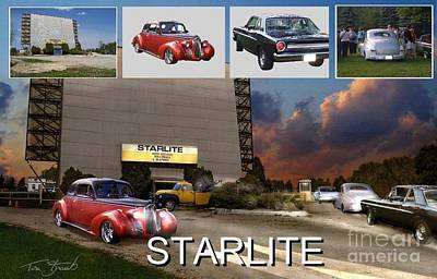 Making The Starlite Art Print by Tom Straub