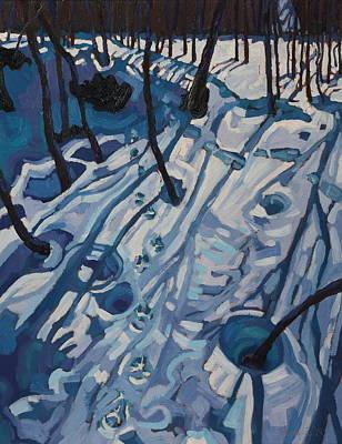 Making Tracks Art Print by Phil Chadwick