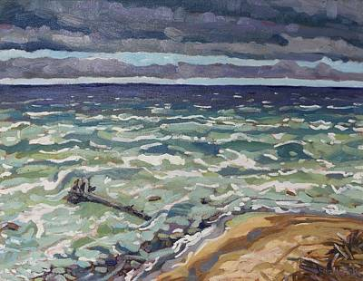 Making Waves In Oil Original by Phil Chadwick