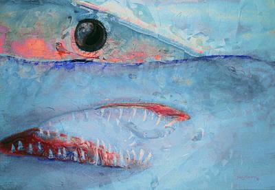 Mahi Mahi Painting - Mako by Ken Figurski