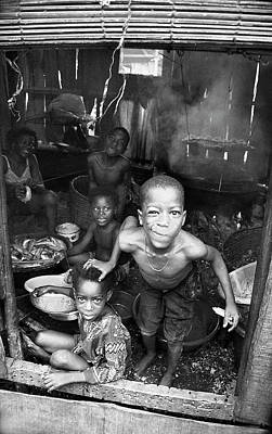 Photograph - Kids Mum Smoked Fish by Muyiwa OSIFUYE