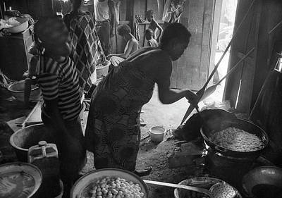 Photograph - Frying Snacks For Sale by Muyiwa OSIFUYE