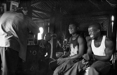 Photograph - Tuning The Music Fun Time  by Muyiwa OSIFUYE