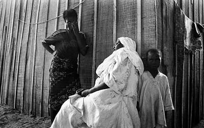 Photograph - A Despairing Moment by Muyiwa OSIFUYE