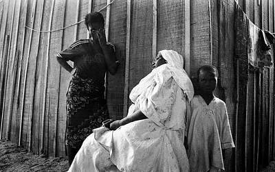 Photograph - A Despairing Moment by Muyiwa OSIFUYE