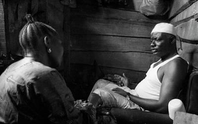 Photograph - Traditional Consultation by Muyiwa OSIFUYE