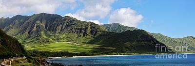 Photograph - Makua Panorama by Craig Wood