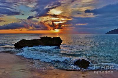 Photograph - Makua Sunset by Craig Wood