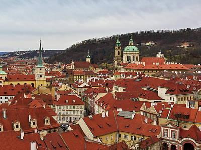 Photograph - Mala Strana Rooftops. Prague Spring 2017 by Jouko Lehto