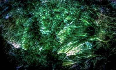 Photograph - Malachite Gemstone by Lilia D