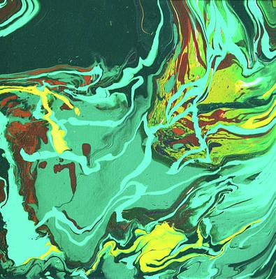 Painting - Malachite by Ralph White