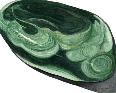 Painting - Malachite1 by Cory Calantropio