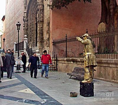 Photograph - Malaga-2010-11 by Rezzan Erguvan-Onal