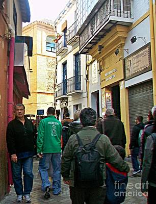Photograph - Malaga-2010-21 by Rezzan Erguvan-Onal