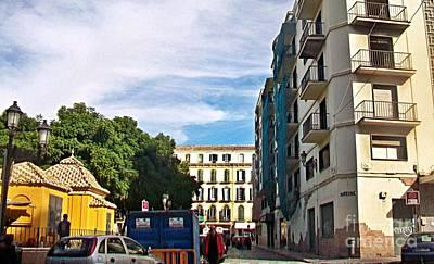 Photograph - Malaga-2010-25 by Rezzan Erguvan-Onal