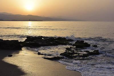 Photograph - Malaga Bay At Dawn by Marek Stepan